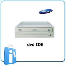 "Lector DVD IDE  PATA 40 pin interno 5.25"" 16x Blanco Samsung SH-D162"