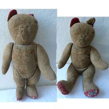 JOUET ANCIEN  OURS 50 CM  TEDDY BEAR ANNÉES 30/50