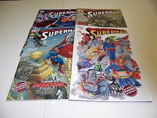 SUPERMAN 56-57-58-59 SEQUENZA ED.LION  NUOVI PERFETTI!!!