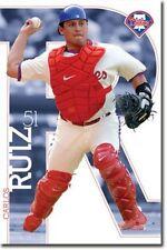 BASEBALL POSTER Carlos Ruiz Philadelphia Phillies MLB