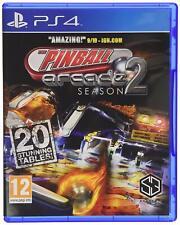Ps4 Pinball Arcade Season 2 Flipper Gioco PLAYSTATION 4 Nuovo