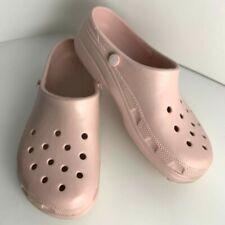 Crocs Mammoth Evo Unisex Adult No Liner Clog Pink Men 9 Women 11 EUC