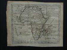1736 DUFRESNOY Atlas map  AFRICA - AFRIQUE