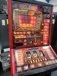 FRUIT MACHINE - MONOPOLY  ROAD TO RICHES - £5 JACKPOT - NEW £1 READY