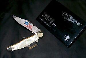 Boker 1010 Hunters Knife 1776 to 1976 Bicentennial Ed. #13239 W/Presentation Box