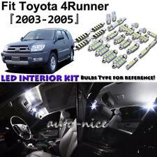 14x White LED Interior Lights Package Kit For 2003 2004 2005 Toyota 4Runner