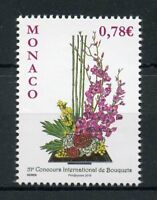Monaco 2018 MNH 51st Intl Bouquet Competition Garden Club 1v Set Flowers Stamps
