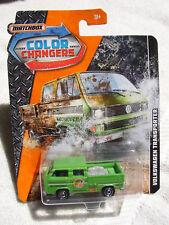 Htf Nuevo Matchbox Color Cambiadores Volkswagen Transporter Mip
