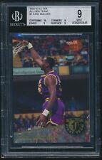 1992-93 Ultra All-NBA #1 Karl Malone BGS 9 Mint
