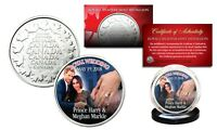 PRINCE HARRY & MEGHAN MARKLE Royal Wedding May 19th 2018 RCM Medallion Coin