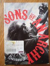 COFFRET 4 DVD ** SONS OF ANARCHY SAISON 3 ** INTEGRALE complet Série