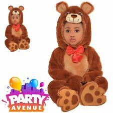 Cuddle Bear Baby Toddler Childrens Jumpsuit Fancy Dress