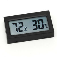 Digital Wireless Temperature Humidity Thermometer LCD Hygrometer Reptile Meter