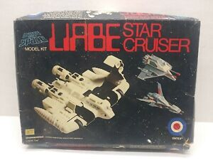 Entex Message From Space Liabe Star Cruiser - 1978 - cat. 8427 -  Rare!