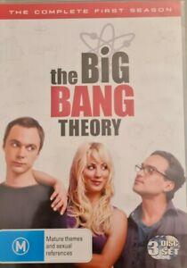 The Big Bang Theory : Season 1 (DVD, 3-Disc Set)