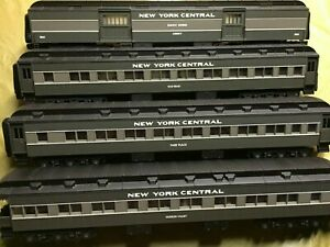 Lionel New York Central Heavyweight passenger cars 19080, 19081,19082, 19083