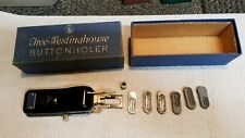 New listing Vtg Free - Westinghouse Button holer with original box