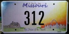 Missouri Commemorative License Plate