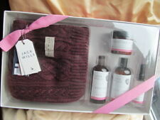Jack Wills Ultimate Scarf Gift Set Body Spray Wash Lotion Scrub NEW HUGE VALUE!!