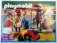 Playmobil 5136 - Piratenkommando mit Waffenarsenal - NEU NEW OVP