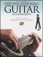 Sing Along with Easy Finger Picking Guitar Accompaniment TAB Music Book/CD