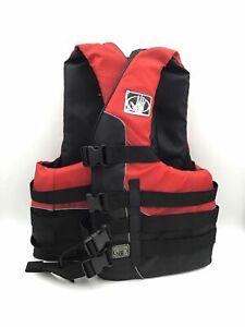 Body Glove Unisex Red/black Life Jacket Size L/XL