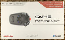 SENA SMH5 Bluetooth Headset/Intercom for Scooter/Motorcycle Helmets- NEW-