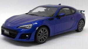 Kyosho 1/18 Scale Resin - KSR18027BL Subaru BRZ GT Metallic Blue