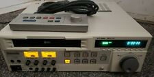 AG-7350 PANASONIC SVHS PROFESSIONAL VCR EDITING DECK WITH BOX & REMOTE