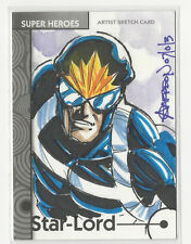 Star-Lord 2013 Marvel Fleer Retro Sketch Card by Andy Carreon #42 1/1