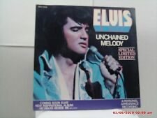 ELVIS-(45 W/PS)-CANADA-WHITE VINYL  UNCHAINED MELODY/SOFTLY, AS I LEAVE YOU 1978