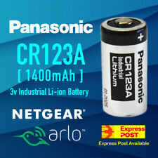 Panasonic 3V CR123A CR17345 Lithium Battery CR123 DL123A EL123A F Arlo Camera