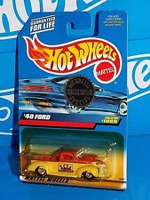 Hot Wheels 1999 Special Trailer Edition SCTA  '40 Ford Truck w/ Real Riders