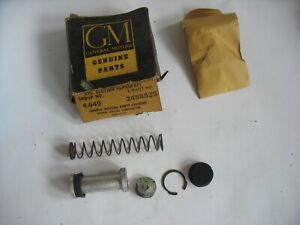 New NOS 1962-1966 GM Hydraulic Brake Master Cylinder Rebuilt Kit 2458525