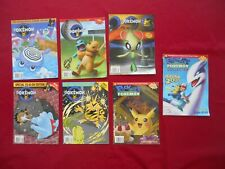 Beckett Collector's Guide Pokemon Lot of 7