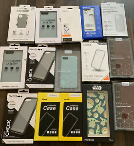 15 X Iphone Cases - Bulk Buy - Brand New - Mixed Sizes - Listed