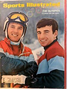 Sports Illustrated Feb 5 1968 Winter Olympics Kidd & Heuga Tarkanian Knievel