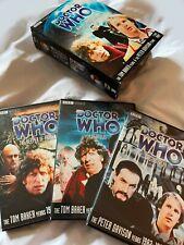 Doctor Who New Beginnings Box Set Stories 115 116 117 Dvd Tom Baker PeterDavison