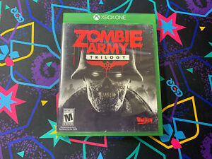Zombie Army Trilogy XBOX One Complete CIB Clean Disc   Rebellion 2015