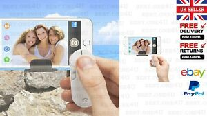 SELFIE ZOOM REMOTE CONTROL & STAND FOR IPHONE *ANDROID *SAMSUNG***UK SELLER*