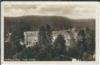 Ansichtskarte Stolberg im Harz Blick auf das fürstliche Schloß Verlag Wollstein