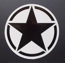 "Sticker Adhesivo brillo-Optik ""Black Star"" laptop, smartphone, StickerBomb..."