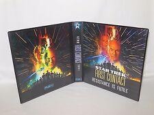 Custom Made Star Trek First Contact Trading Card Album Binder