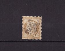 timbre France  Cérès du siège de Paris  10c bistre jaune   num: 36 oblitéré b