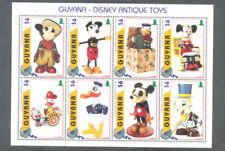 Disney-Antique Toys - special min sheet mnh-postage stamps genuine