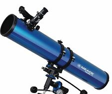 Meade Instruments Polaris 114eq Reflector Telescope 114mm Metallic Blue