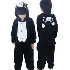 Hot Sale Kids Pajamas Kigurumi Unisex Cosplay Animal Costume Onepiece Sleepwear
