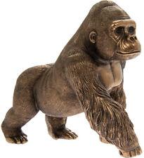 Gorilla Ornament Bronze Sculpture Monkey Ape The Leonardo Collection 9x17x16cm