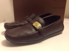 Louis Vuitton Classic Leather Men's Loafers, Moccasins. Size 8 1/2 N. Italy
