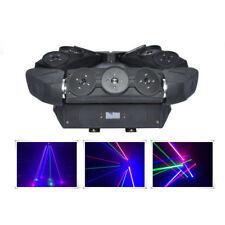 9 lens RGB Moving Spider Beam Laser Light DMX DJ Party Profession Stage Lighting